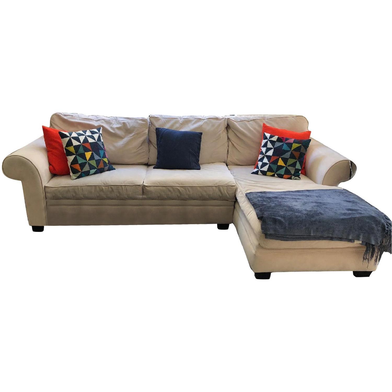Macyu0027s Sleeper Sectional Sofa W/ Right Chaise ...