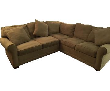 Raymour & Flanigan Glendora 2-Piece Sectional Sofa