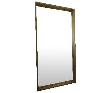 Crate & Barrel Linea Natural Floor Mirror
