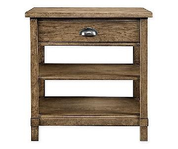 Stanley Driftwood Park Bedside Tables in Sunflower Seed