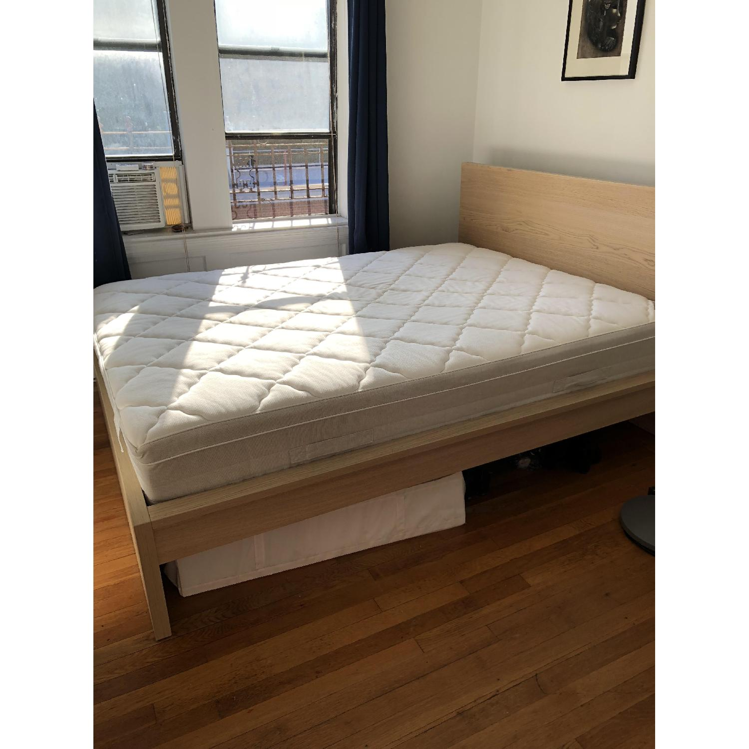 Ikea Malm High Queen Bed Frame Aptdeco