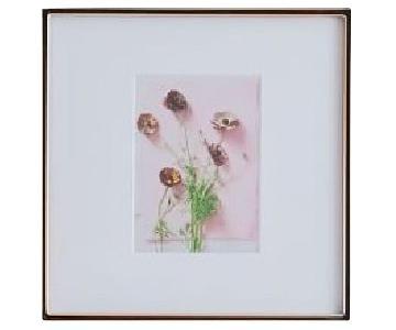 West Elm Gallery Frames in Rose Gold
