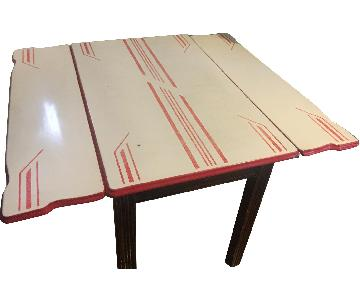 1950s Art Deco Style Dining Table