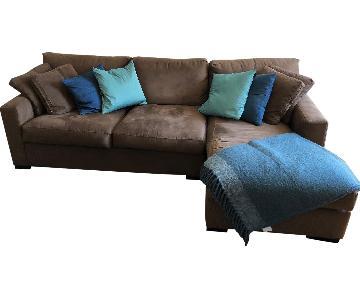 Pottery Barn Comfort 2 Piece Sectional Sofa