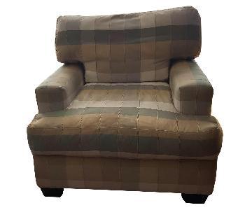 Habita Collection Earth Tones Arm Chair