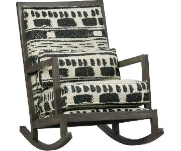 Crate & Barrel Jeremiah Rocking Chair