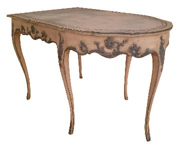 Vintage French Provincial Rounded Table