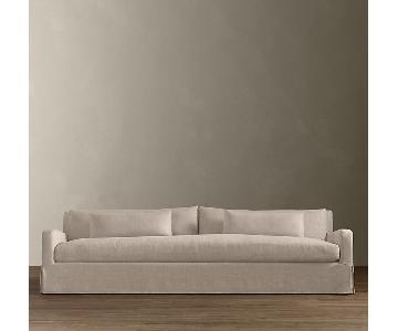 Restoration Hardware Belgian Slope Arm Sleeper Sofa