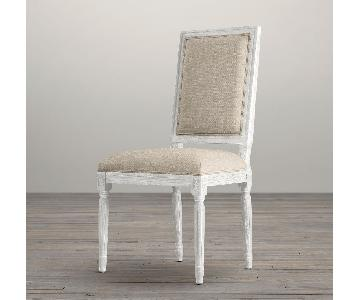 Restoration Hardware Vintage French Square Dining Chair