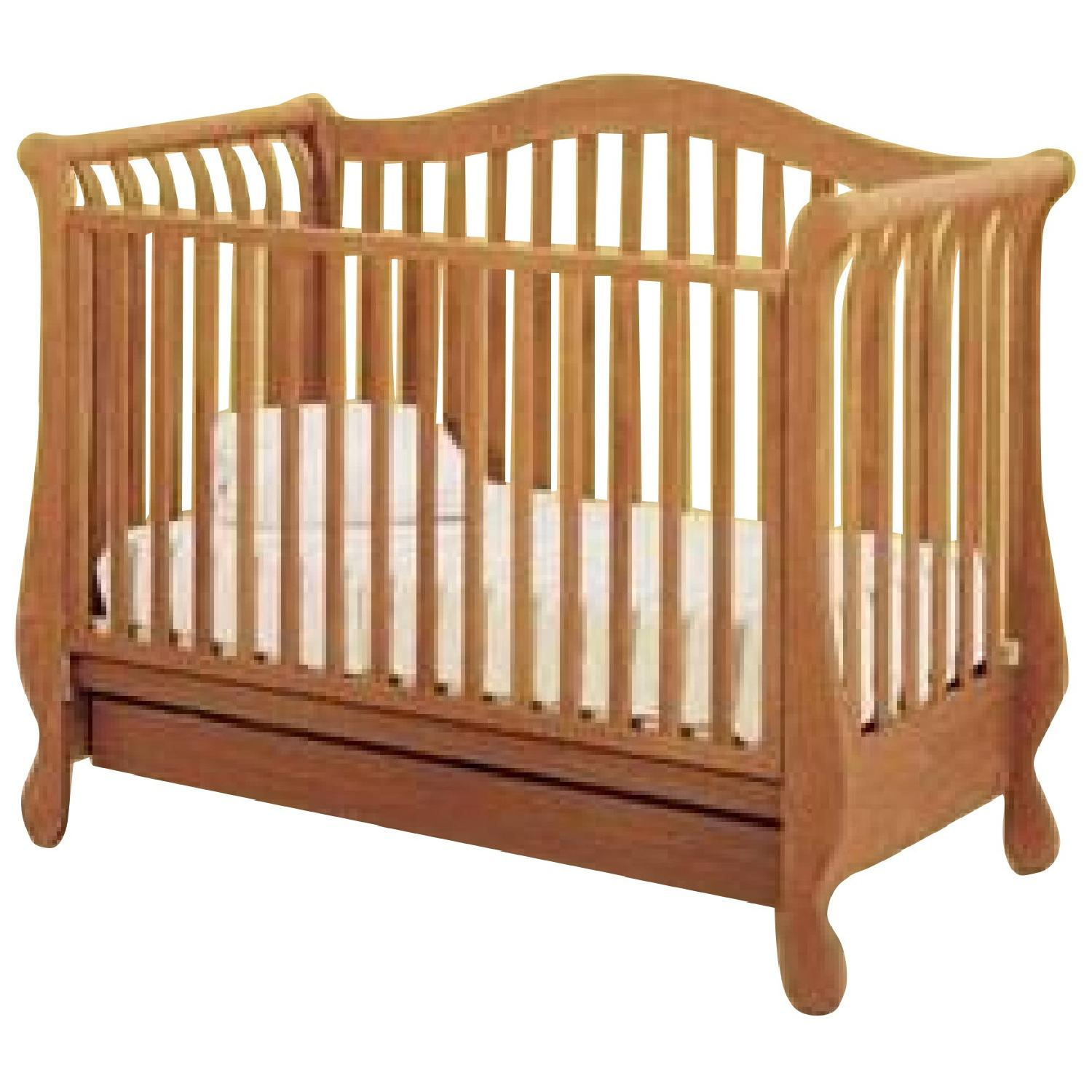 Pali Design Forever 3-in-1 Crib w/ Linen Drawer