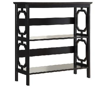Convenience Concepts Omega Black 3 Tier Bookcase
