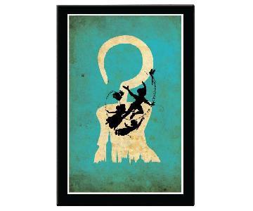 Disney Movie Posters: Peter Pan, Cinderella, Maleficent