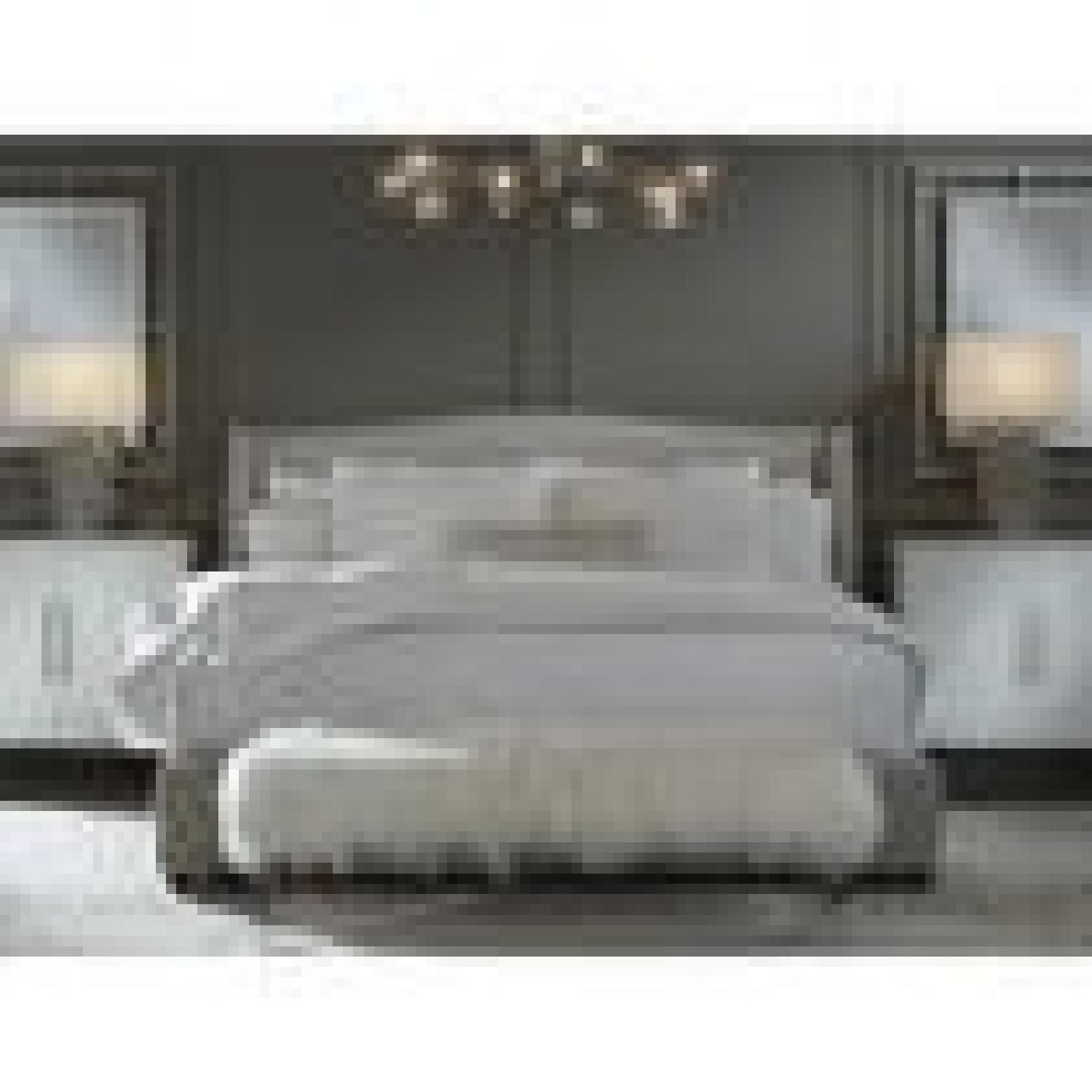 Mitchell Gold + Bob Williams Celina King Floating Rail Bed-1