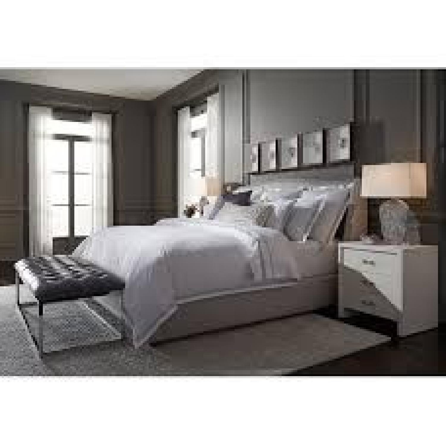 Mitchell Gold + Bob Williams Celina King Floating Rail Bed