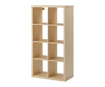 Ikea Kallax Birch Effect Shelf Unit