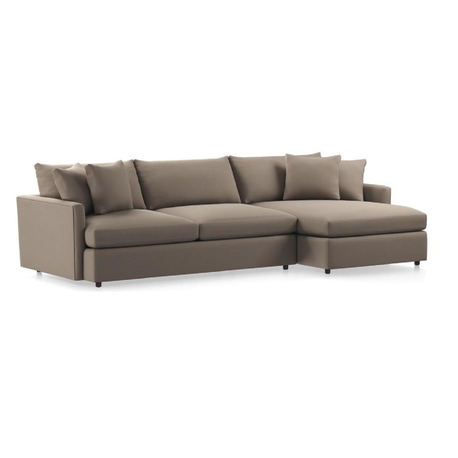 Crate & Barrel Lounge Ii Sectional Sofa
