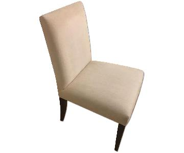 Crate & Barrel Upholstered Dining Chairs