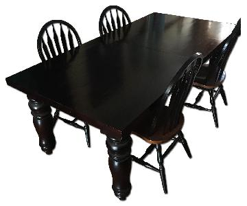 Restoration Hardware Dining Table w/ 6 Chairs