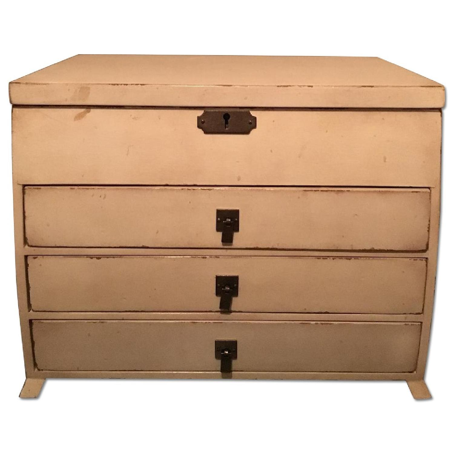 Pottery Barn Emmett Cream Jewelry Dresser