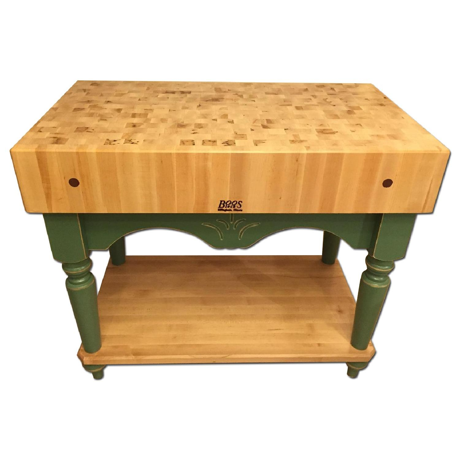 John Boos Calais Block Kitchen Island
