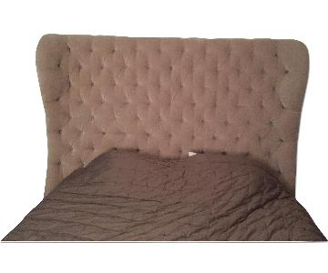 Simone Tufted King Size Bed