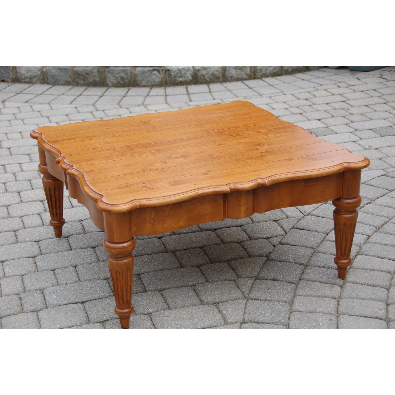 Ethan Allen Legacy Coffee Table Aptdeco