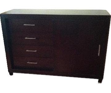 Bob's Furniture TV Stand and Armoire