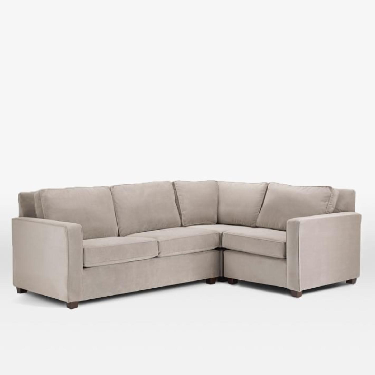 am umfhanna set and piece fm with amfm sectional cd p aux stereo brown sofa
