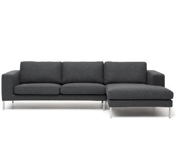 Design Within Reach 2-Piece Sectional Sofa