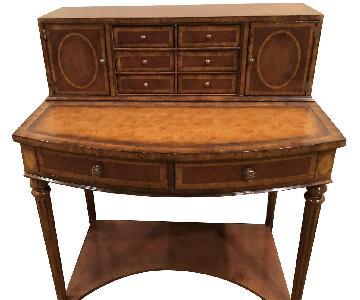Lord Buxton English Writing Desk w/ Leather Top