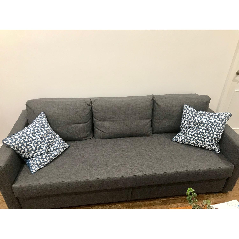 ... Ikea Friheten Gray Sleeper Sofa 2