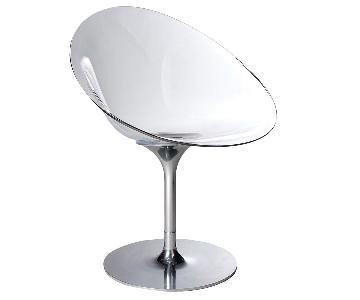 Kartell Philippe Starck Eros Swivel Chair