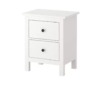 Ikea Hemnes White Nightstand