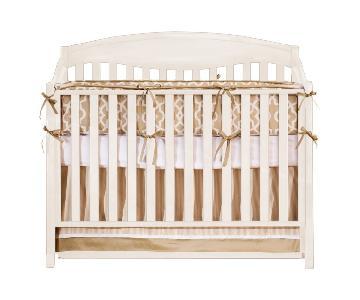 Sydney Convertible Crib in Antique White