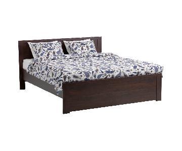 Ikea Brusali Full Bed Frame