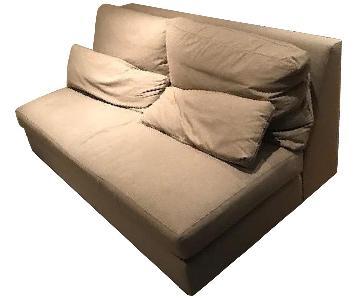 Arhaus Pollack Armless Sofa & Ottoman