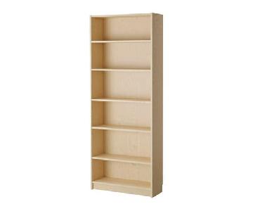 Ikea Billy Birch Veneer Bookcase