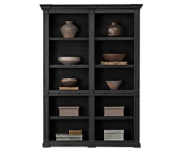 Restoration Hardware Atkins Double Low Bookshelf