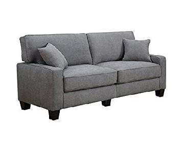 Serta RTA Palisades Sofa in Gray