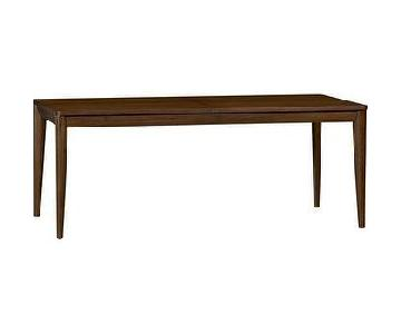 Crate & Barrel Oslo Extension Dining Table