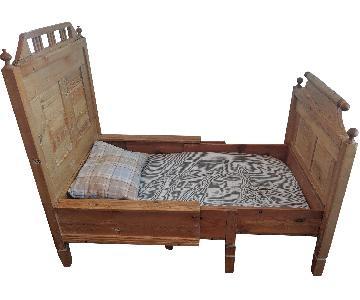 Vintage Scandinavian Extendable Kid's Bed