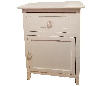 Winsome Wood Nightstands w/ Cynthia Rowley Knobs