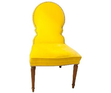 Bernhardt Yellow Haven Side Chairs