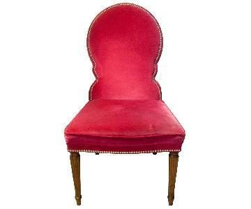 Bernhardt Haven Pink Dining Chairs