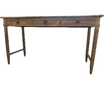 Anthropologie Desk in Washed Wood