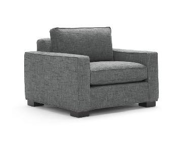 Mitchell Gold + Bob Williams Carson Chair in Slate Grey
