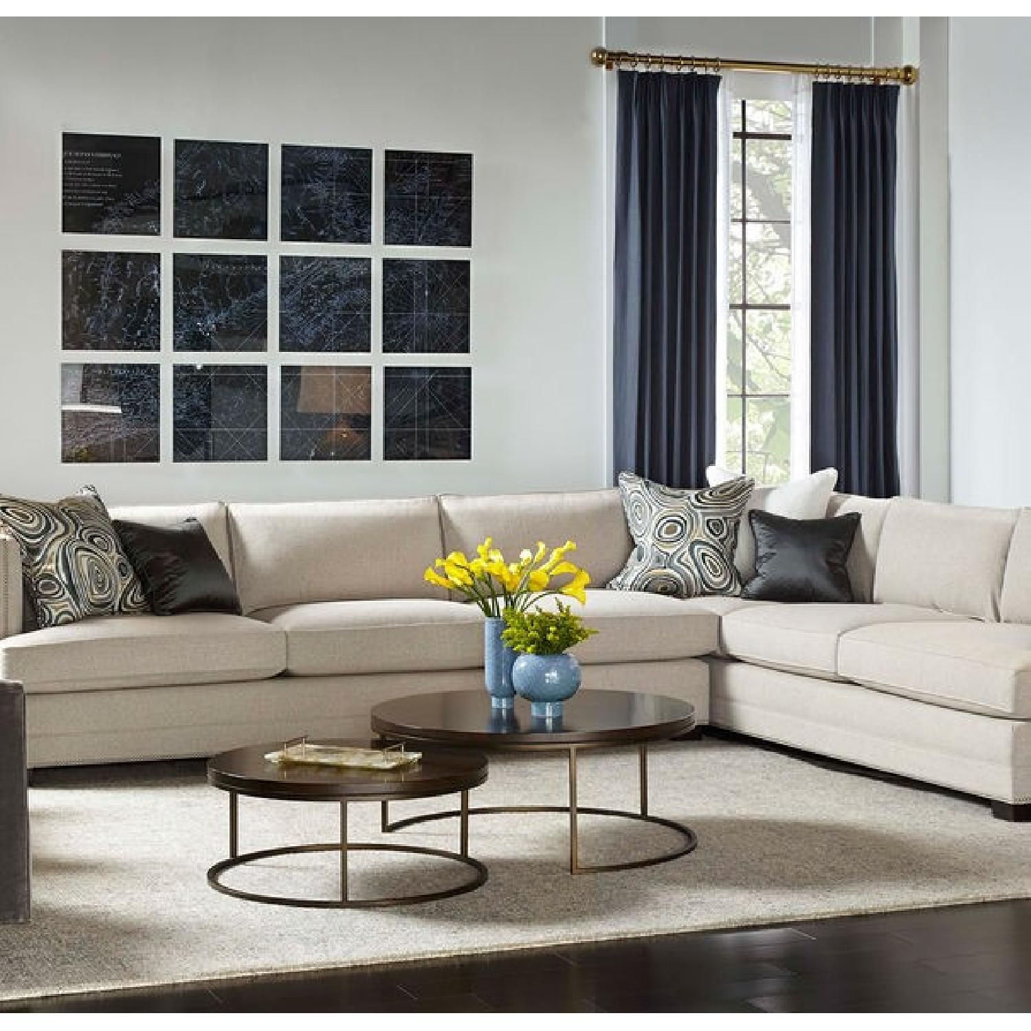 Mitchell Gold + Bob Williams Keaton Sectional in Taupe Grey-2