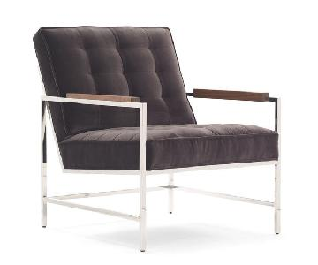Mitchell Gold + Bob Williams Major Arm Chair in Charcoal