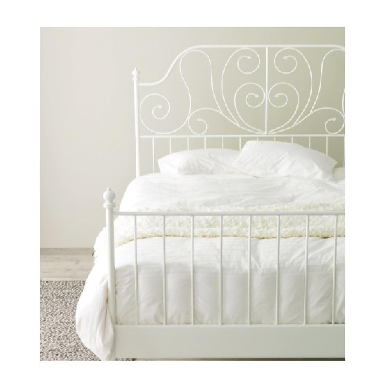 Ikea Leirvik Queen Bed Frame 1