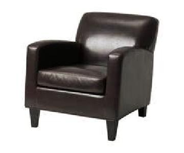 Ikea Jappling Leather Armchairs